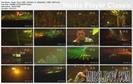 DJ Tiesto - Live Perfomance (Euro 1080, Aufnahe In Diskothek)