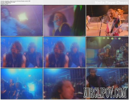 Scorpions - Rock You Like A Hurricane (Russian Version)