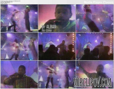 Dr. Alban - No Coke (Live, Njesrevyn)