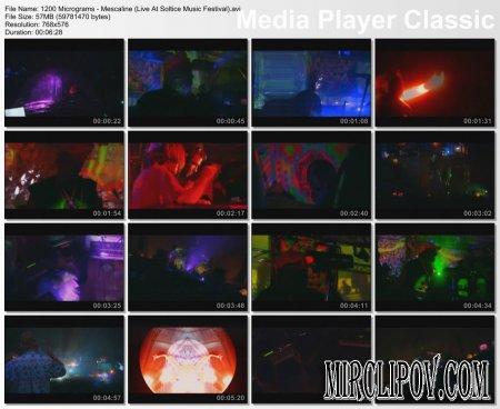 1200 Micrograms - Mescaline (Live, Soltice Music Festival)