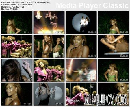 Rihanna - S.O.S. (Chris Cox Video Mix)