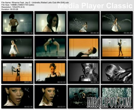 Rihanna Feat. Jay-Z - Umbrella (Rafael Lelis Club Mix Edit)