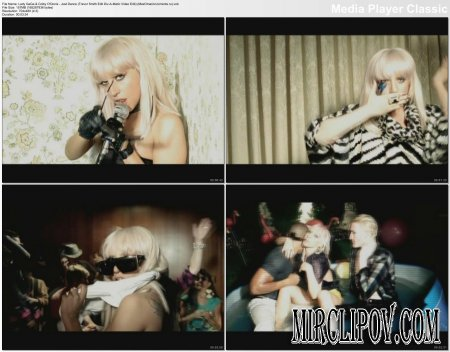 Lady GaGa Feat. Colby O'Donis - Just Dance (Trevor Smith Edit Div-A-Matic Video Edit)
