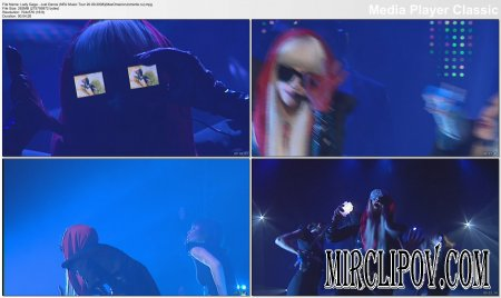 Lady Gaga - Just Dance (Live, NRJ Music Tour, 20.09.08)