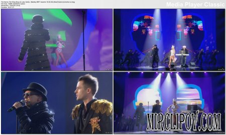 Pet Shop Boys & Lady GaGa - Medley (Live, Brit Awards, 18.02.09)