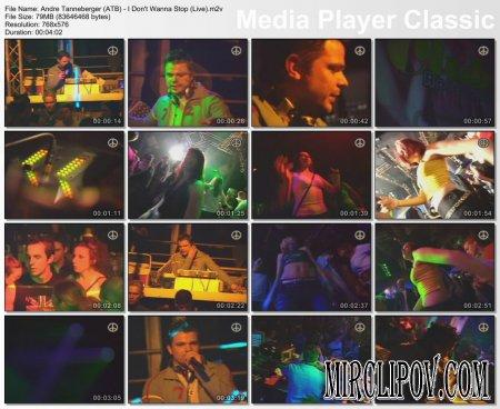 ATB - I Don't Wanna Stop (Live)