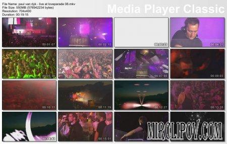 Paul Van Dyk - Live Perfomance (Loveparade, 2008)