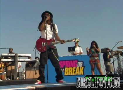 Lil Wayne - Prom Queen (Live, MTVU Spring Break, 2009)