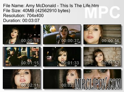 Amy McDonald - This Is The Life