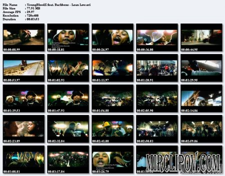 Youngbloodz Feat. Backbone - Lean Low