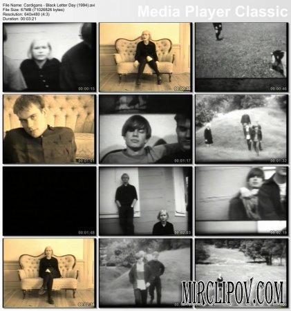 Cardigans - Black Letter Day