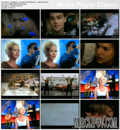 Cardigans - Lovefool (OST Romeo + Juliet)