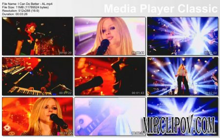 Avril Lavigne - I Can Do Better (Live, 2007)