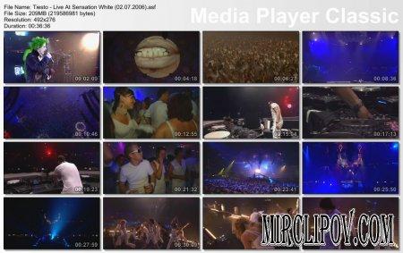 Tiesto - Live Perfomance (Sensation White, 02.07.06)