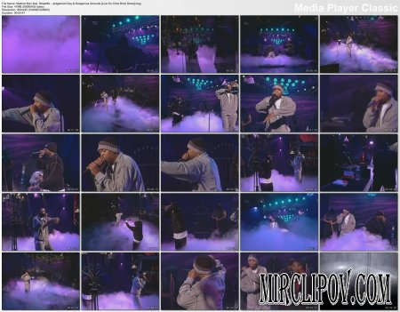 Method Man Feat. Streetlife - Judgement Day & Dangerous Grounds (Live, Chris Rock Show)