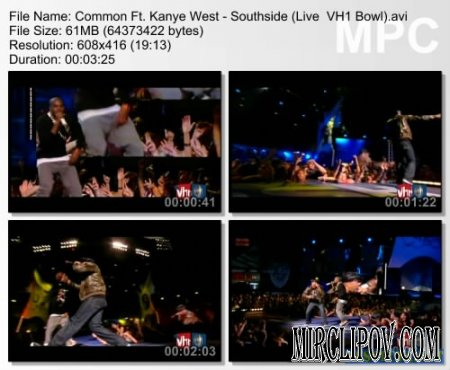 Common Feat. Kanye West - Southside (Live, VH1 Bowl)
