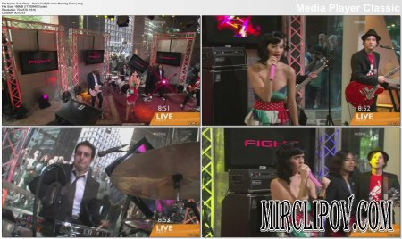 Katy Perry - Hot N Cold (Live, Sunrise Morning Show)