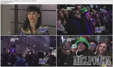 Katy Perry - Intro & Hot N Cold (NBC's New Year's Eve, 31.12.08)