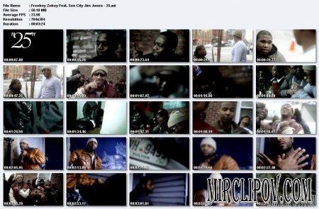 Freekey Zekey Feat. Jim Jones & Sen City - 25