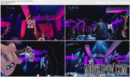 Katy Perry - I Kissed A Girl (Live, Later With Jools Holland, 23.09.08)