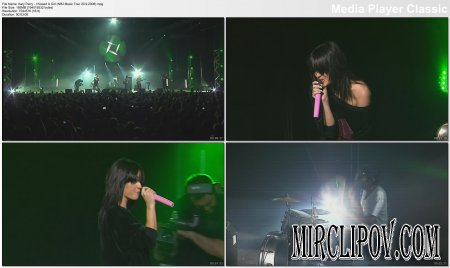 Katy Perry - I Kissed A Girl (Live, NRJ Music Tour, 20.09.08)