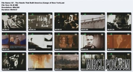 U2 - The Hands That Built America (Gangs Of New York)