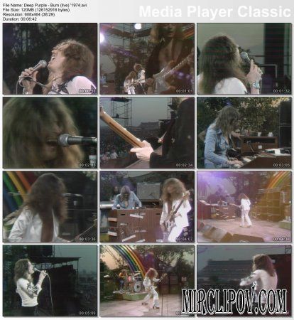 Deep Purple - Burn (Live, 1974)