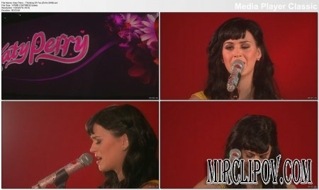 Katy Perry - Thinking Of You (Live, Echo, 2009)
