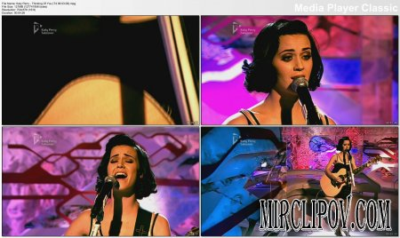 Katy Perry - Thinking Of You (Live, T4, 08.03.09)