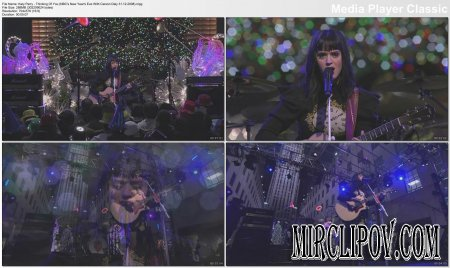 Katy Perry - Thinking Of You (NBC's New Year's Eve, 31.12.08)