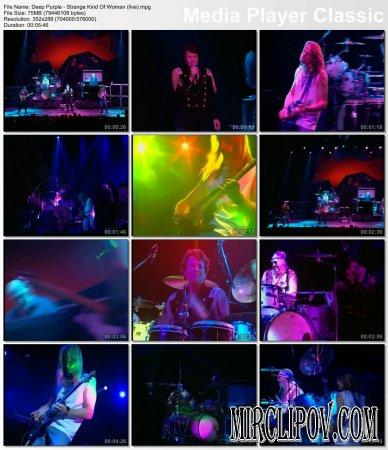 Deep Purple - Strange Kind Of Woman (Live)