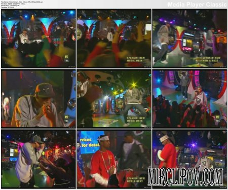 Chris Brown - Run It (Live, TRL, 08.11.05)
