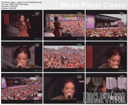 Alizee - Moi Lolita (Live, Amsterdam)