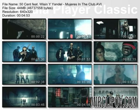 50 Cent Feat. Wisin & Yandel - Mujeres In The Club