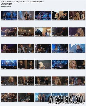 Taylor Swift Feat. Def Leppard - CMT Crossroads (Live)