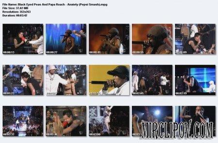 Black Eyed Peas Feat. Papa Roach - Anxiety (Live, Pepsi Smash)