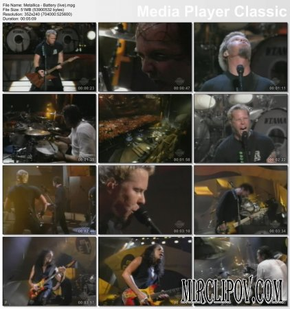 Metallica - Battery (Live)
