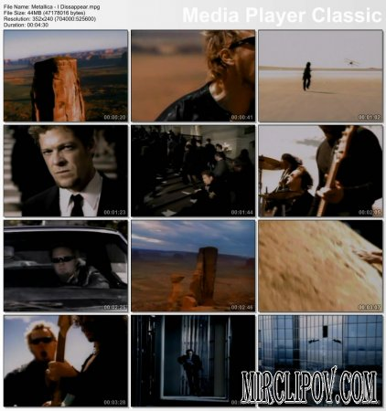 Metallica - I Dissappear