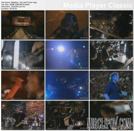 Metallica - No Leaf Clover (Live)
