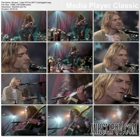 Nirvana - Lake Of Fire (Live)
