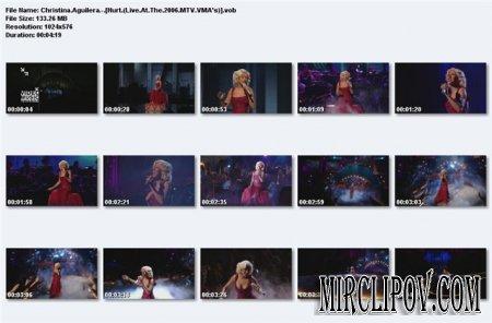 Christina Aguilera - Hurt (Live, MTV WMA, 2006)