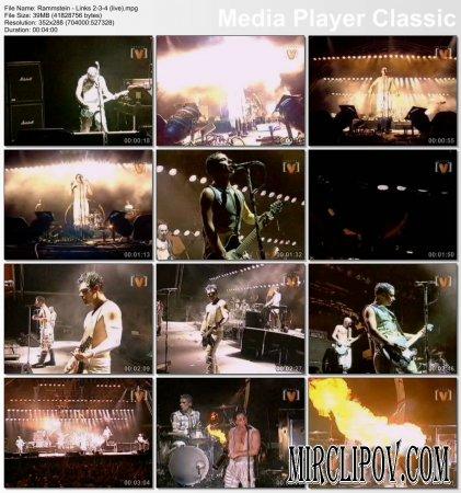 Rammstein - Links 2 3 4 (Live)