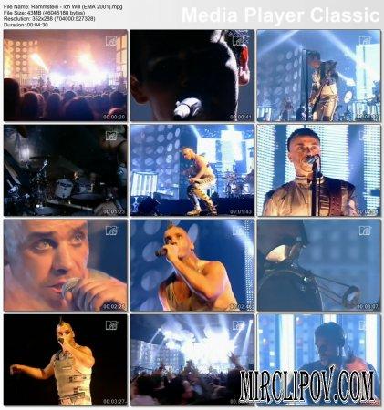 Rammstein - Ich Will (Live)