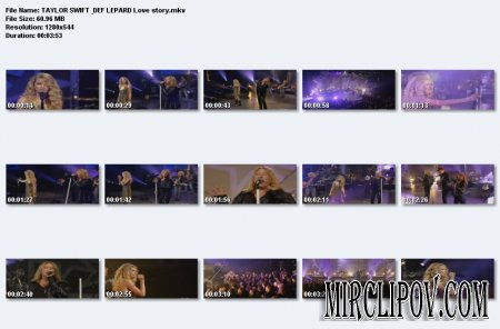 Taylor Swift Feat. Def Leppard - Love Story (Live)
