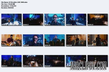 U2 - Breathe (Live, 2009)