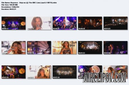 Beyonce - Deja vu (Live, BBC)
