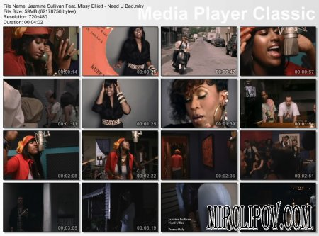 Jazmine Sullivan Feat. Missy Elliott - Need U Bad