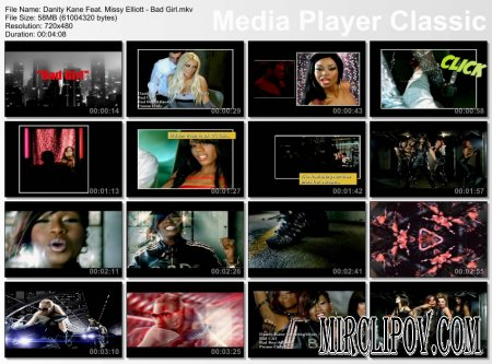Danity Kane Feat. Missy Elliott - Bad Girl