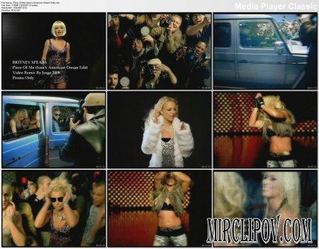 Britney Spears - Piece Of Me (Sam's American Dream Edit)