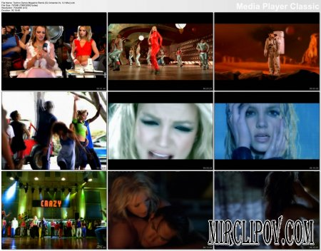 Britney Spears - Techno Dance Megamix Remix